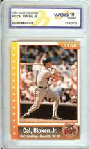 1995 star co cal ripken jr wcg graded 10 psa? baltimore orioles baseball card - $39.99