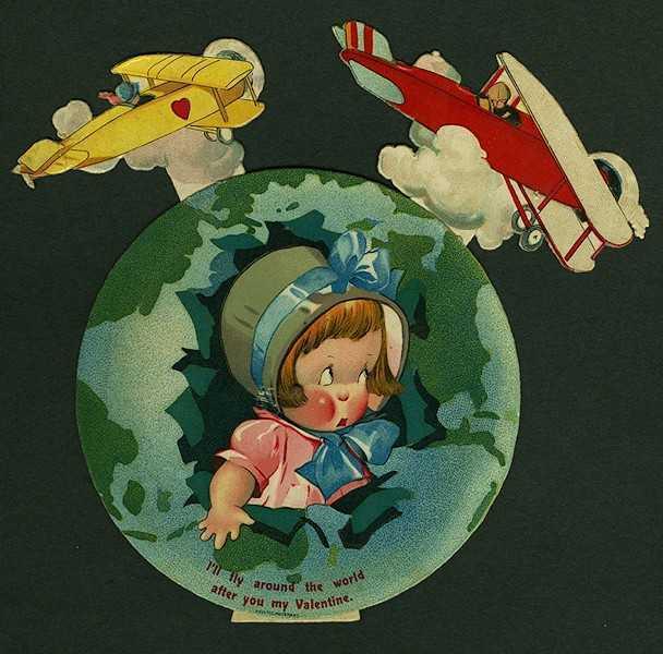 Greeting card valentine 1920 twelvetrees