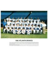 1985 ATLANTA BRAVES 8X10 TEAM PHOTO BASEBALL MLB PICTURE - $3.95