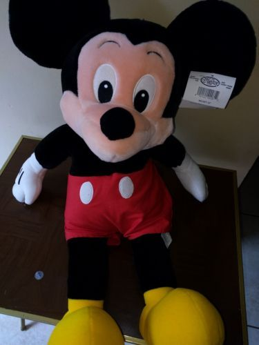 Officially Licensed Deluxe Large 15 Inch Mickey Mouse Plush Puppet Toy Disney Mickey Mouse Plush Disney Theme Park Merchandise