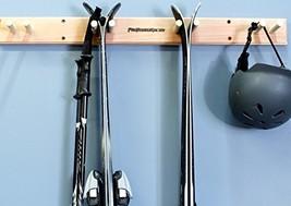 Pro Board Racks Ski Wall Rack Mount - 4 Vertical Sets of Skis - $75.43