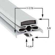 Commercial Refrigeration Gasket Glenco-Star Metal SLFS22TE Part# (GC-691-1) - $41.32