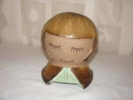 Dutch Swedish Cookie Jar Girl Mrs. Pringle Vintage Designs West Pottery ... - $29.69