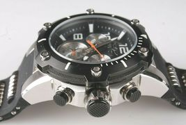 Invicta Men's Speedway 22235 Black & Stainless Steel Chronograph Watch NWOT image 7