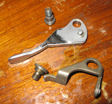 Singer Touch & Sew Presser Thumb Lift #163583 & Release Lever  #163231 w/ Screws - $9.00