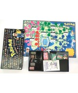 Vintage Pokemon Master Trainer Board Game 1999 Rare Missing few cards Read - $93.49