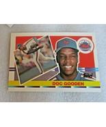 1990 Topps Big Dwight Gooden New York Mets Baseball Card! Pitcher WS / #174 / NM - $2.61