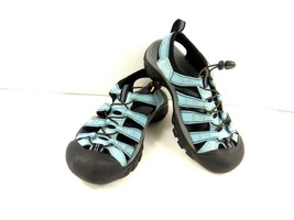 Keen Women's Sandals Newport H2 Waterproof Sport Hiking Blue/Black Shoes... - $39.42