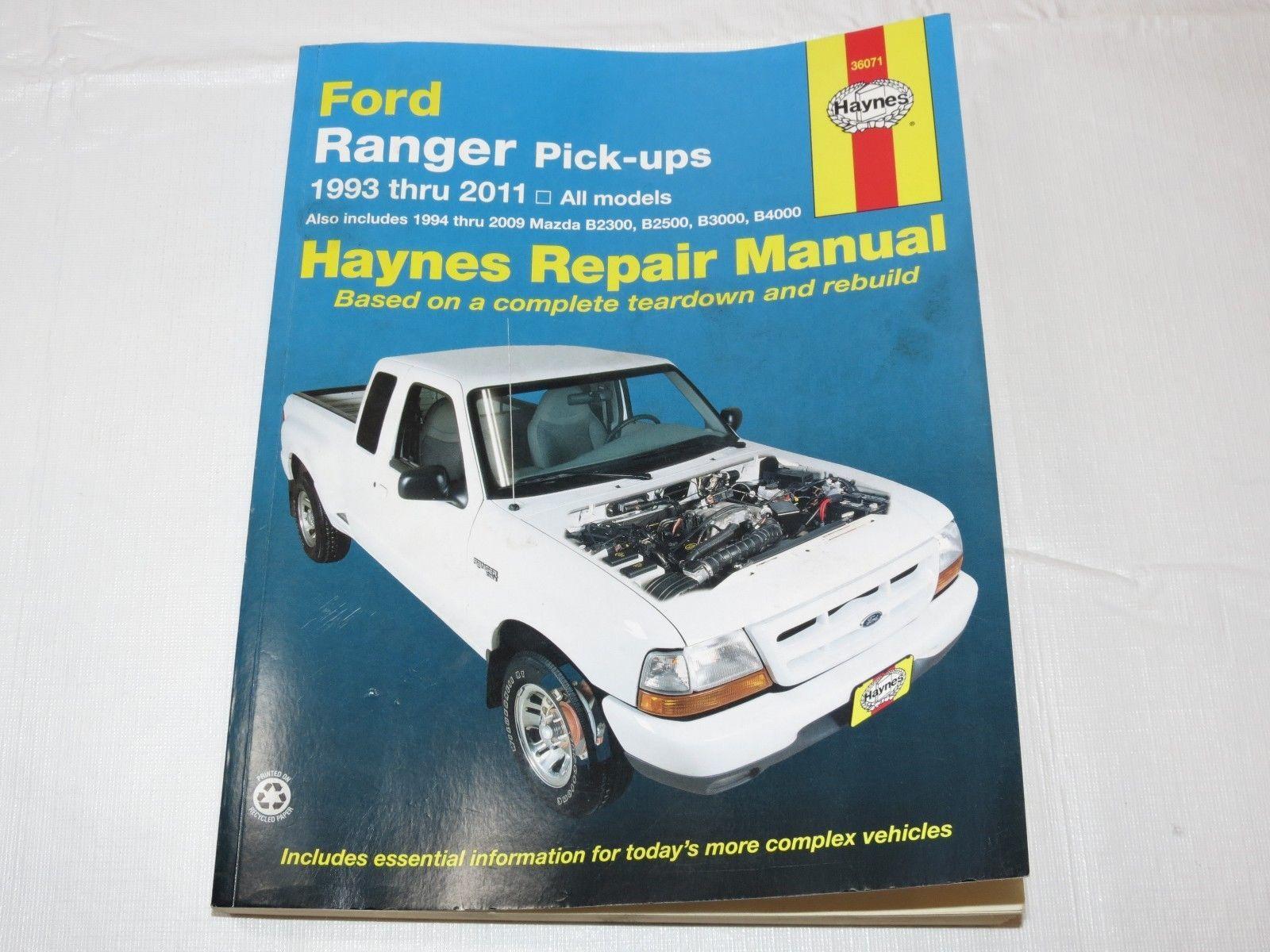 Ford Ranger And Mazda B Series Pick Ups And 50 Similar Items