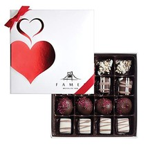 Fames Assorted Chocolate Gift Box – Handcrafted Deluxe Chocolates - Kosher 16 Co - $41.03