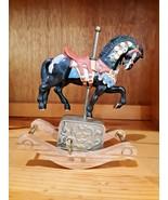 "Willitts Melodies Rocking Ceramic Horse Music Box/Carousel ""Carousel Waltz"" - $32.66"