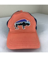 Patagonia Hat Logo Snapback Mesh Trucker Cap Mountain Buffalo Mesh Logo ... - $39.99