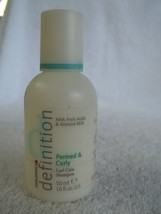 Goldwell DEFINITION Permed & Curly Curl Care Shampoo 1.6 oz ~ LOT of 3 Bottles!! - $8.94