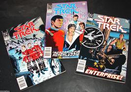 3 1989-90 DC Comics STAR TREK 3, 4, 5 F-VF Comic Books by David, Fry, an... - $11.99