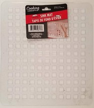 "Kitchen Sink Mats 12.5"" x 11"" Soft Clear Plastic Grid 1 Ct/Pk - $2.96"