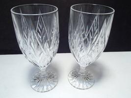 2 Mikasa Park Ridge Iced Tea / Water Goblets ~~ htf - $29.95