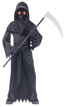 Fun World Grim Reaper Fade in/Out Unknown Phantom Costume, Black, Child ... - $33.24