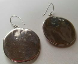 Bat Ami 925 Sterling Silver Circle Hook Earrings - $55.00