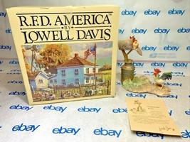"Lowell Davis ""Mail Order Bride"" Figurine  1986 Schmid IOB Card Rooster Chicken - $143.53"