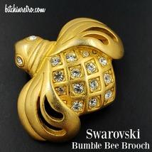 Swarovski Crystal Vintage Bumble Bee Brooch - $36.00