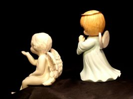 Ceramic Angels AA-191730  Vintage Collectible Pair image 4