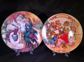 AVON Collector Christmas Plate -  1989 & 1994 Wall Plates - $6.57
