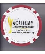 47th Academy of Country Music Award  Papa Johns Rewards Las Vegas Chip - $7.95