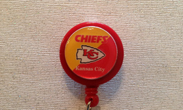Nfl Kansas City Chiefs Badge Reel - Chiefs Badge Reel - Chiefs Id Badge - Chiefs - $6.99