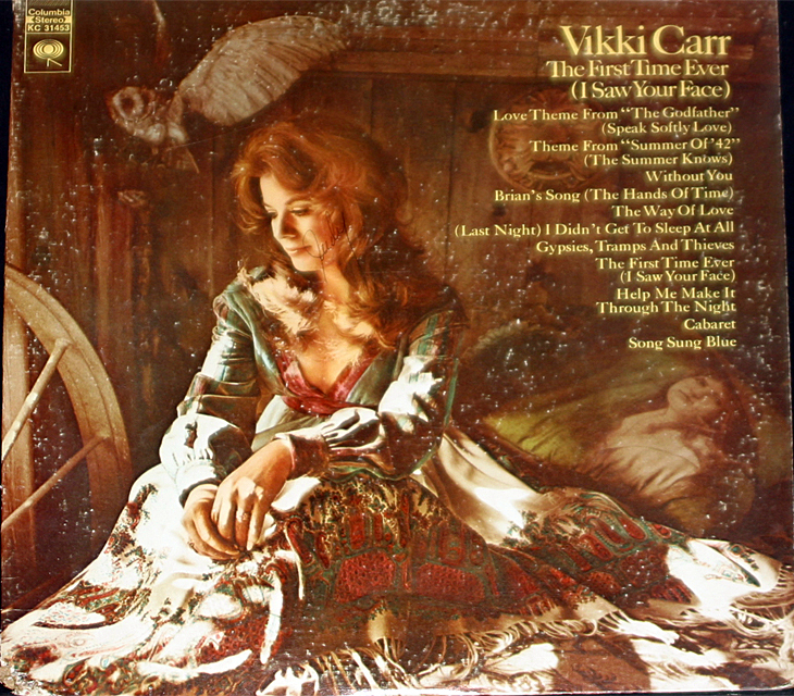 Vikki carr  the first time ever cover