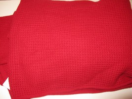Ralph Lauren Cashmere Pique Throw Blanket RC Red $430 - $3.394,79 MXN
