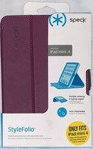 Speck Purple StyleFolio Case / Cover - Only Fits iPad Mini 4 - $34.95