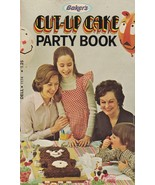 Baker's Cut Up Cake Party Book 1978 Vintage Cookbook Coconut - $16.82
