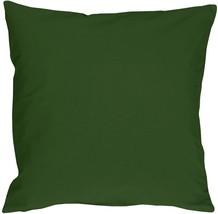 Pillow Decor - Caravan Cotton Forest Green 23x23 Throw Pillow - $37.95