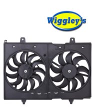DUEL FAN ASSEMBLY NI3115137 FOR 09 10 11 12 13 14 15 NISSAN ROGUE L4 2.5L image 1