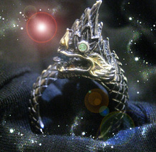 Haunted Antique Ring The Secrets Of The Dragon Blood Lines Secret Magick Power - $9,497.77