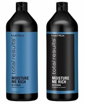 Matrix Total Results Moisture Me Rich Shampoo and Conditioner Liter Duo - $40.00