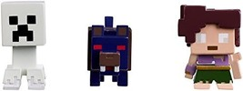 Mattel Minecraft Halloween Series Action Figure (3 Pack) - Ghost Creeper... - $12.58