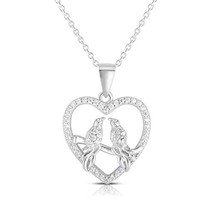 Unique Royal Jewelry A 925 Sterling Silver (Rhodium-Plated Sterling Silver) - $37.97