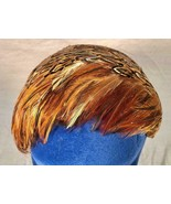 VINTAGE ROARING 20S FLAPPER'S FEATHER HAT UNION MADE FOR STAGE COSTUMING - $49.49