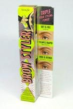 BENEFIT BROW STYLER Multitasking Pencil & Powder for Brows NIB Choose Shade - $21.95