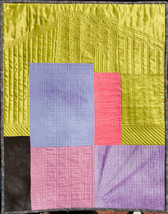 City Scape ~ Art Quilt - $1,000.00