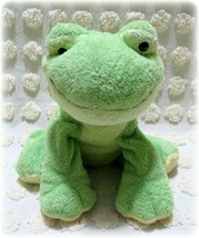 TY Pluffies Leapers the Frog Beanie Baby Plush Stuffed Soft Baby Securit... - $14.84