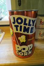 Vecchio Vintage, Jolly Tempo Giallo Popcorn Pubblicità Snacks, Metallo o... - $203.94
