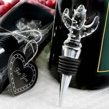 Choice Crystal cactus design bottle stopper  - $6.99