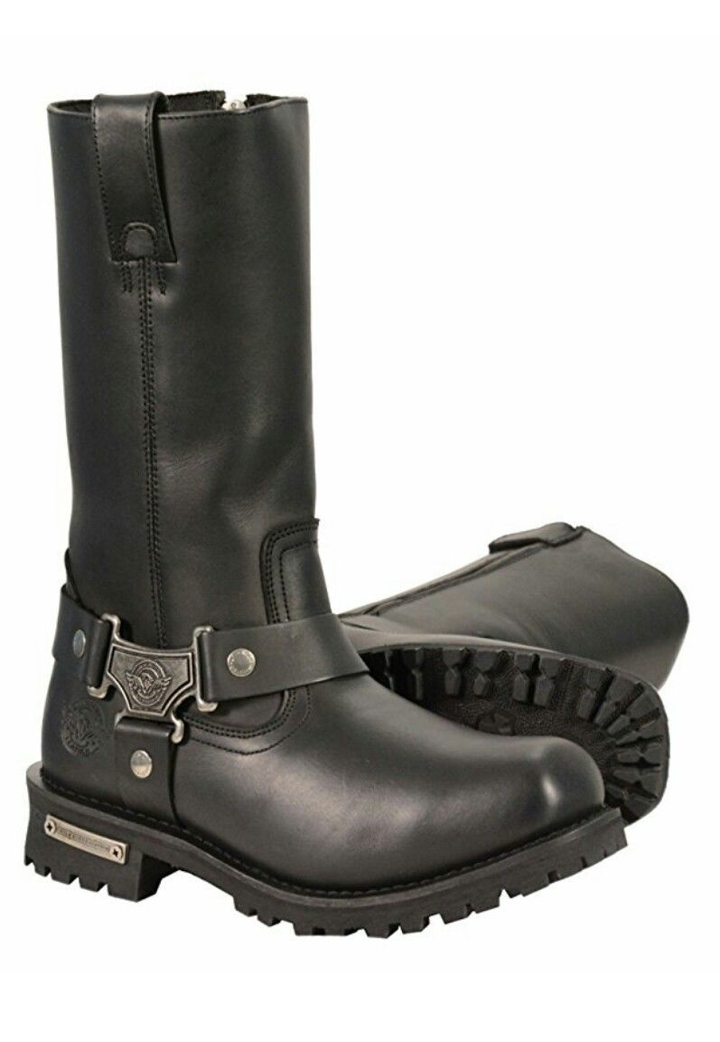 "Primary image for MEN'S 11"" WATERPROOF HARNESS SQUARE TOE BOOT. MBM9061WP"
