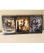 Lord of the Rings DVD Trilogy Set of 3 DVDs 6 Discs Fellowship Two Tower... - $19.99