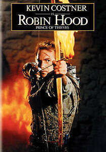 BRAND NEW SEALED DVD Robin Hood Prince of Thieves -Kevin Costner Morgan Freeman