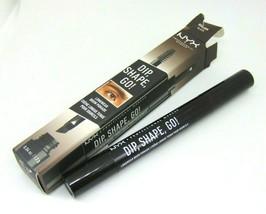 NYX DIP SHAPE GO Brow Pomade No.DSGLB08 Black 0.04oz/1.2g NIB  - $8.50