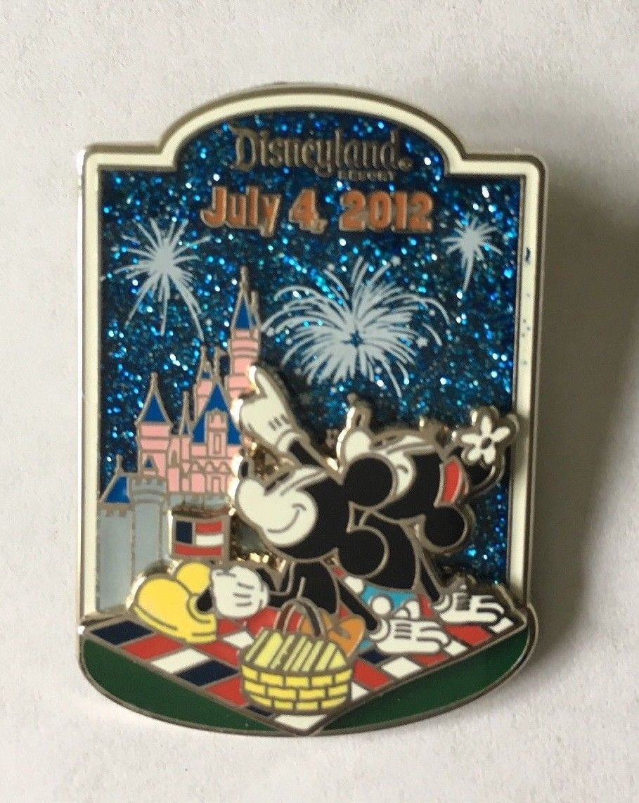 Primary image for Disney Mickey and Minnie Mouse Patriotic Picnic July 4th 2012 LE 1500 Pin