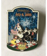 Disney Mickey and Minnie Mouse Patriotic Picnic July 4th 2012 LE 1500 Pin - $24.99